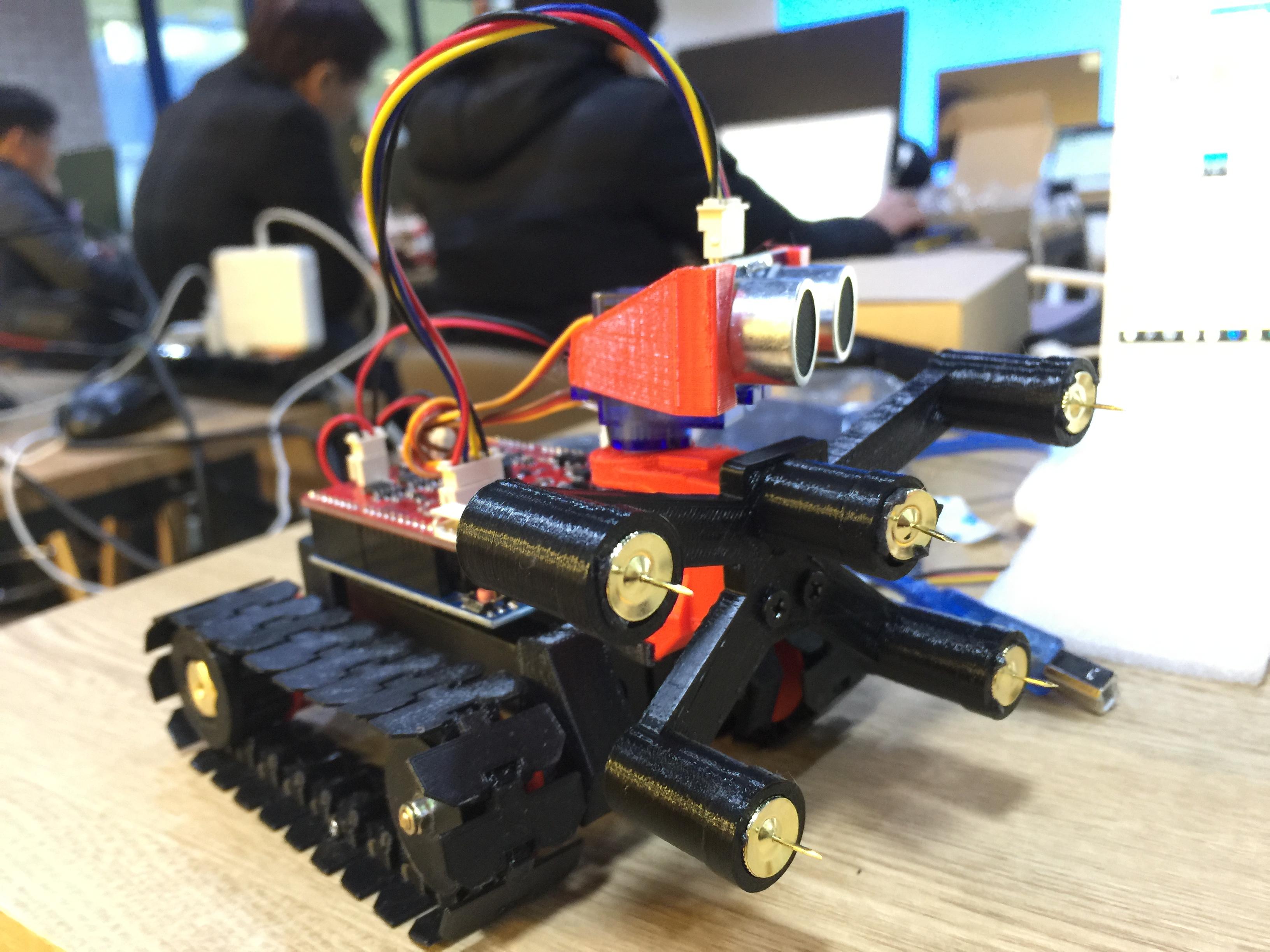 아두이노 + 3D프린팅 미니로봇 제작과정 - 판교 스타트업캠퍼스(KICT)