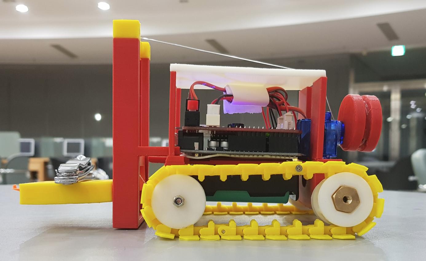 3D프린터와 아두이노 활용 콘텐츠 제작과정 - 고려대학교 (2017년 2학기)