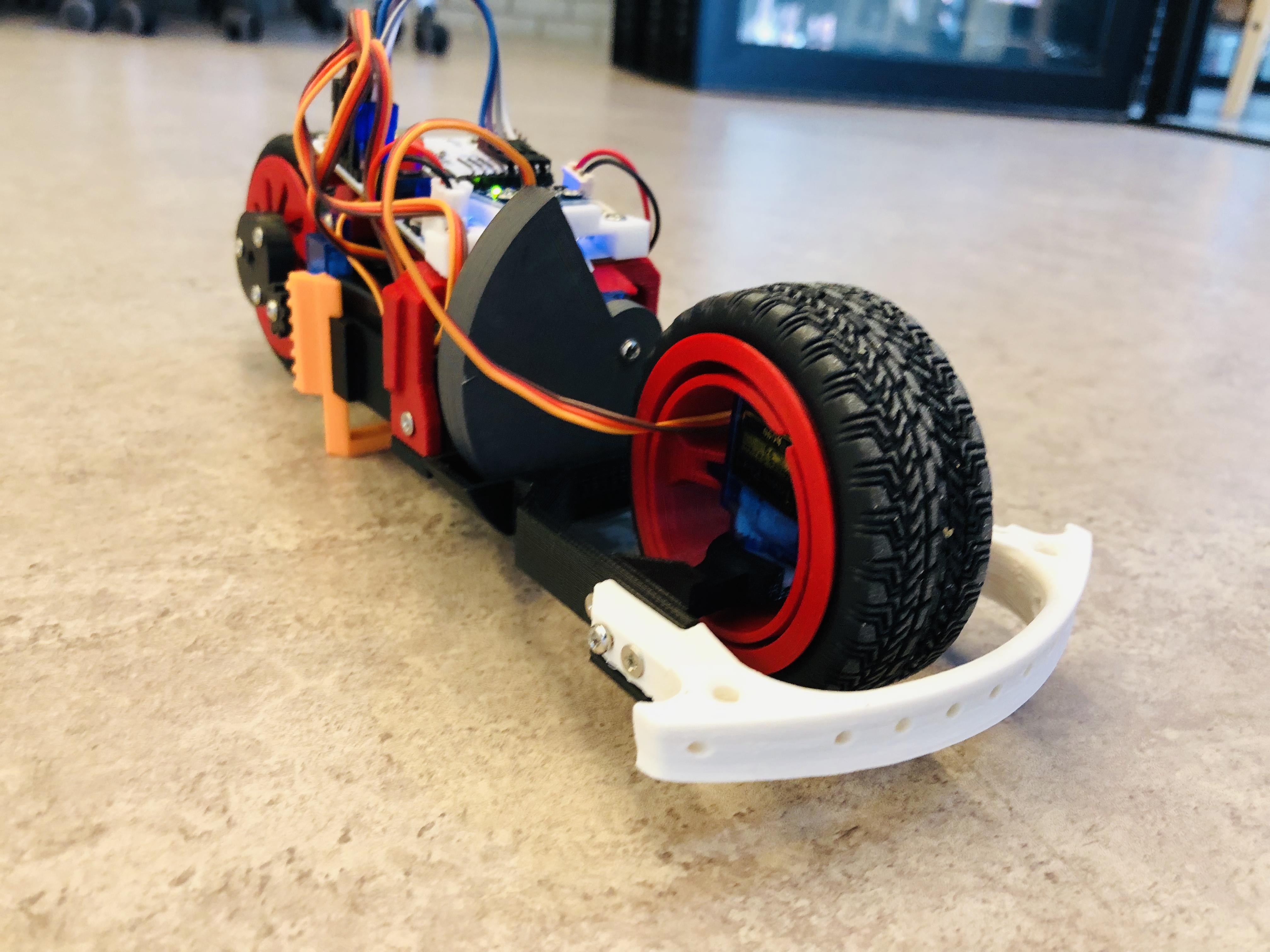 3D프린팅과 아두이노를 활용 Balancing Bike 제작 - K-ICT 디바이스랩 판교