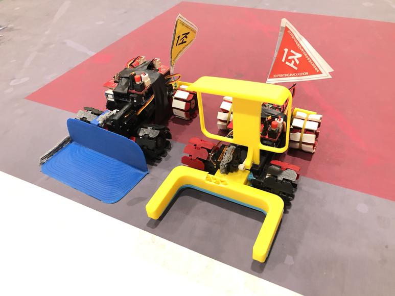 3D프린터와 아두이노를 활용한 Mini Robot 해커톤