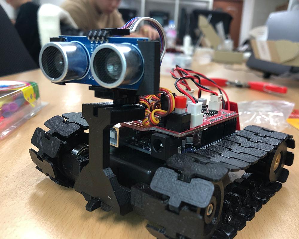 3D프린터와 아두이노를 이용한 미니로봇 만들기 - 단국대학교