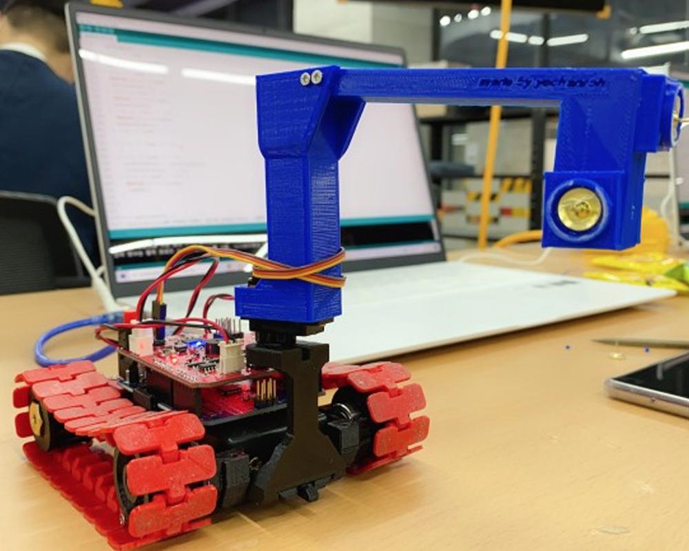 3D프린터와 아두이노를 활용한 배틀로봇 제작과정 - 고려대학교