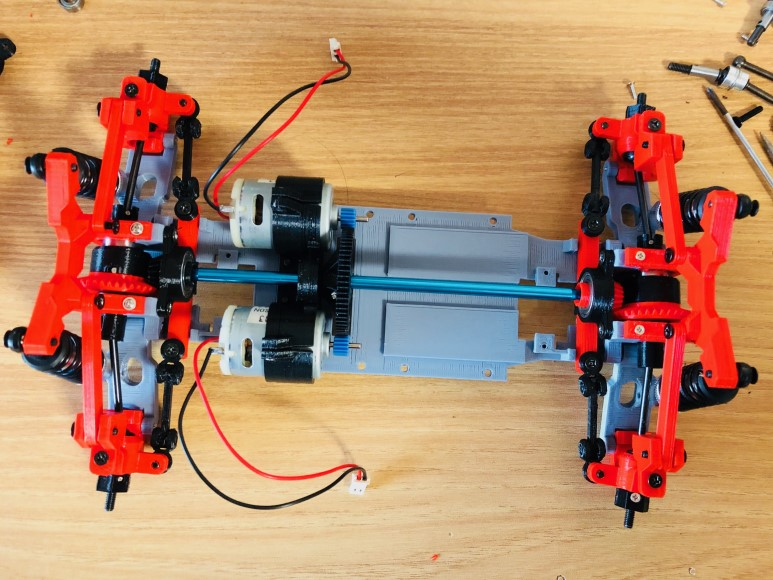 3D프린터와 아두이노로 만드는 4WS RC CAR #3