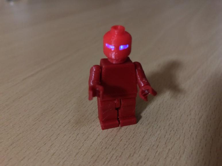 3D프린터로 레고 미니피규어 만들기 + LED