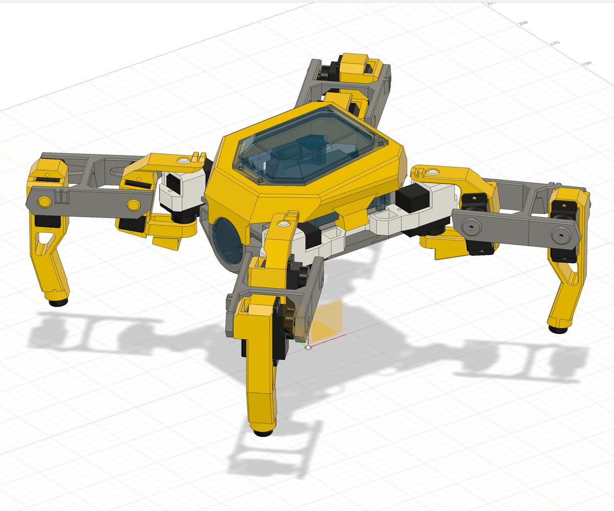 QUAD ROBOT MAKER KIT